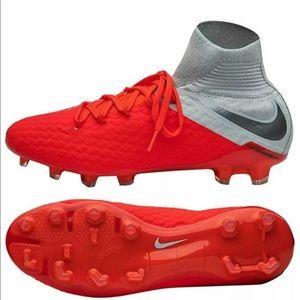Nike Hypervenom Phantom 3 Elite Soccer Cleat Sz 10